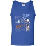 I'm The Psychotic Leo August Girl Tank Top