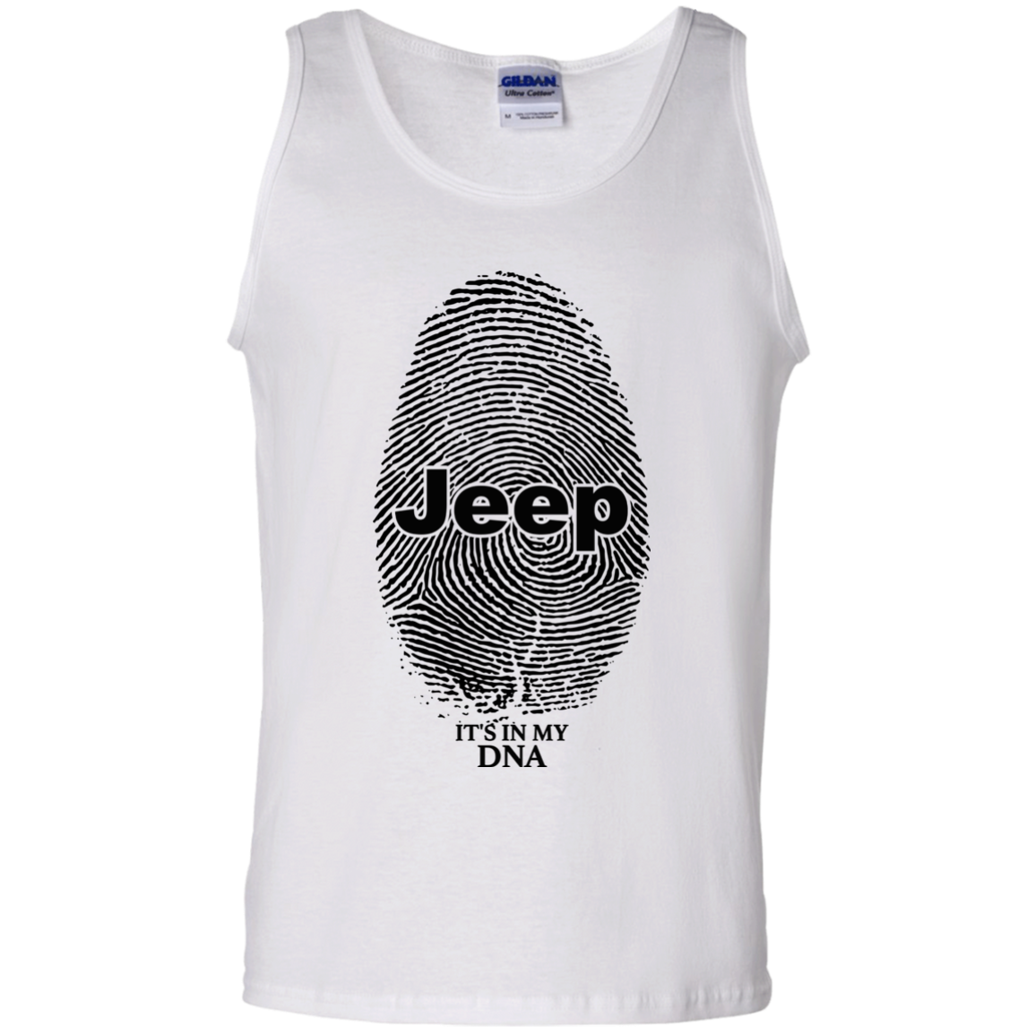 Jeep It's In My DNA Tank Top
