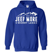Jeep More Worry Less Hoodie