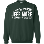 Jeep More Worry Less Sweater