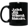 Jude JB Willem Malcolm Mug - Shipping Worldwide - NINONINE