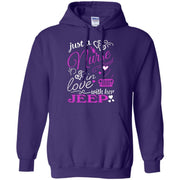 Just A Nurse In Love With Her Jeep Hoodie