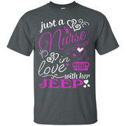 Just A Nurse In Love With Her Jeep Shirt