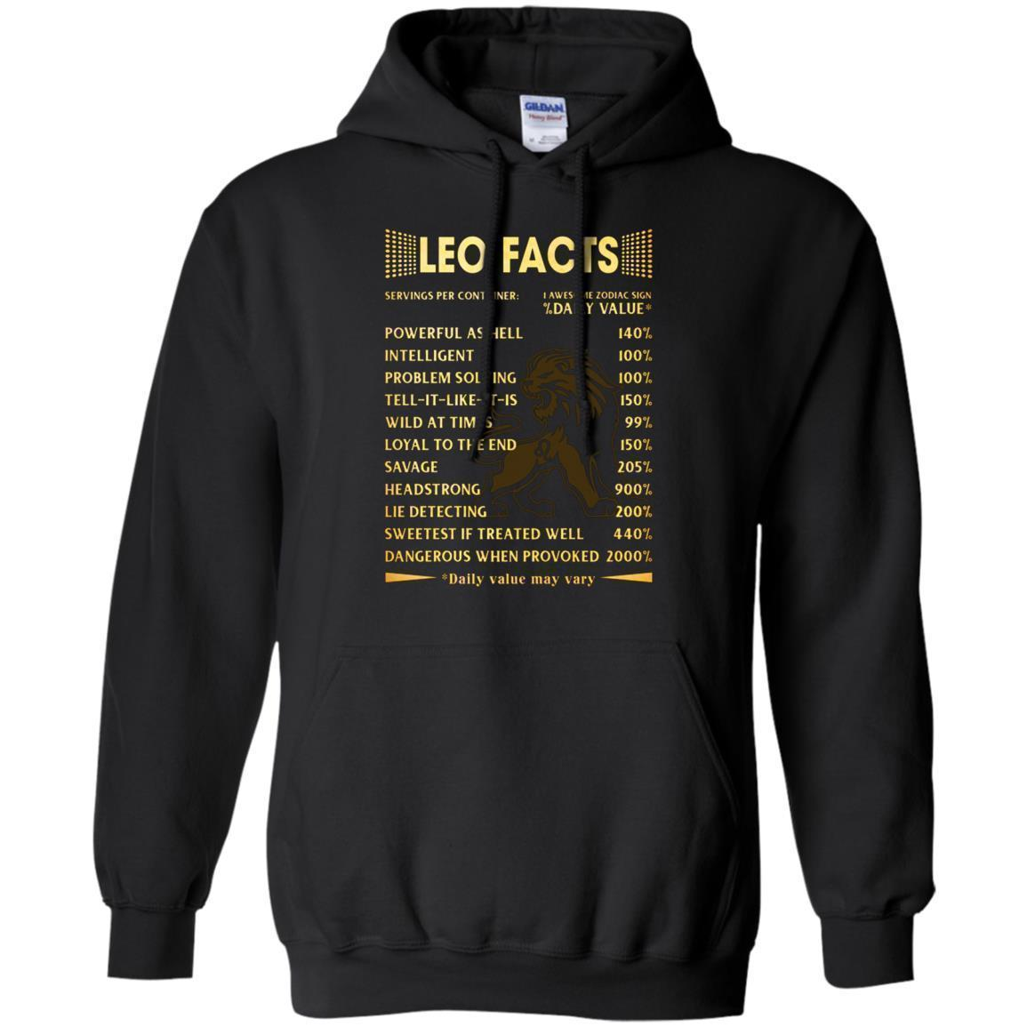 Leo Facts Hoodie
