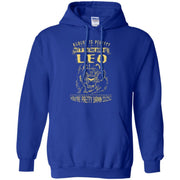 Leo Perfect Zodiac Signs Birthday Hoodie