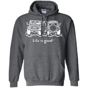Life Is Good Jeep Hoodie For Couple