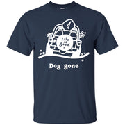 Life Is Good Jeep Shirt Dog Gone