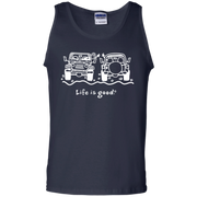 Life Is Good Jeep Tank Top For Couple