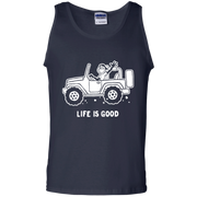 Life Is Good Jeep Tank Top For Men