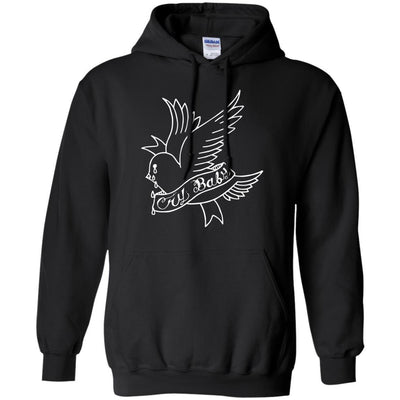 Lil Peep Hoodie Cry Baby Dove - Shipping Worldwide - NINONINE