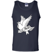 Lil Peep Tank Top Cry Baby Dove White