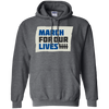 March For Our Lives Hoodie Original Style - Dark Heather - Shipping Worldwide - NINONINE