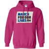 March For Our Lives Hoodie Original Style - Heliconia - Shipping Worldwide - NINONINE