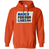 March For Our Lives Hoodie Original Style - Orange - Shipping Worldwide - NINONINE