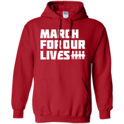 March For Our Lives Hoodie White Text Style