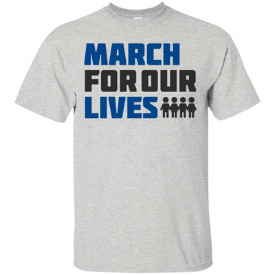 March For Our Lives Shirt Light Style - Ash - Shipping Worldwide - NINONINE