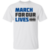 March For Our Lives Shirt Light Style - White - Shipping Worldwide - NINONINE
