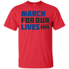 March For Our Lives Shirt Light Style - Red - Shipping Worldwide - NINONINE