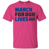 March For Our Lives Shirt Light Style - Heliconia - Shipping Worldwide - NINONINE