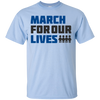 March For Our Lives Shirt Light Style - Light Blue - Shipping Worldwide - NINONINE