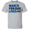 March For Our Lives Shirt Light Style - Sport Grey - Shipping Worldwide - NINONINE