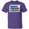 March For Our Lives Shirt Original Style - Purple - Shipping Worldwide - NINONINE
