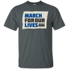 March For Our Lives Shirt Original Style - Dark Heather - Shipping Worldwide - NINONINE
