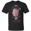 Mental Health Is Just As Important As Physical Health Shirt - Black - Shipping Worldwide - NINONINE