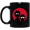 Minimalist Characters Rick And Morty Mug - Shipping Worldwide - NINONINE