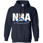 NBA Never Broke Again Hoodie Blue Light