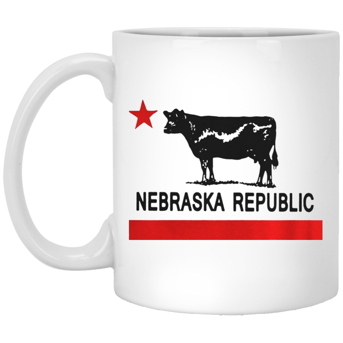 Nebraska Republic Mug