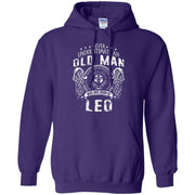 Never Underestimate An Old Man Who Was Born As Leo Hoodie