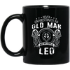 Never Underestimate An Old Man Who Was Born As Leo Mug - Shipping Worldwide - NINONINE