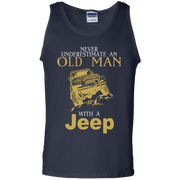 Never Underestimate An Old Man With A Jeep Tank Top