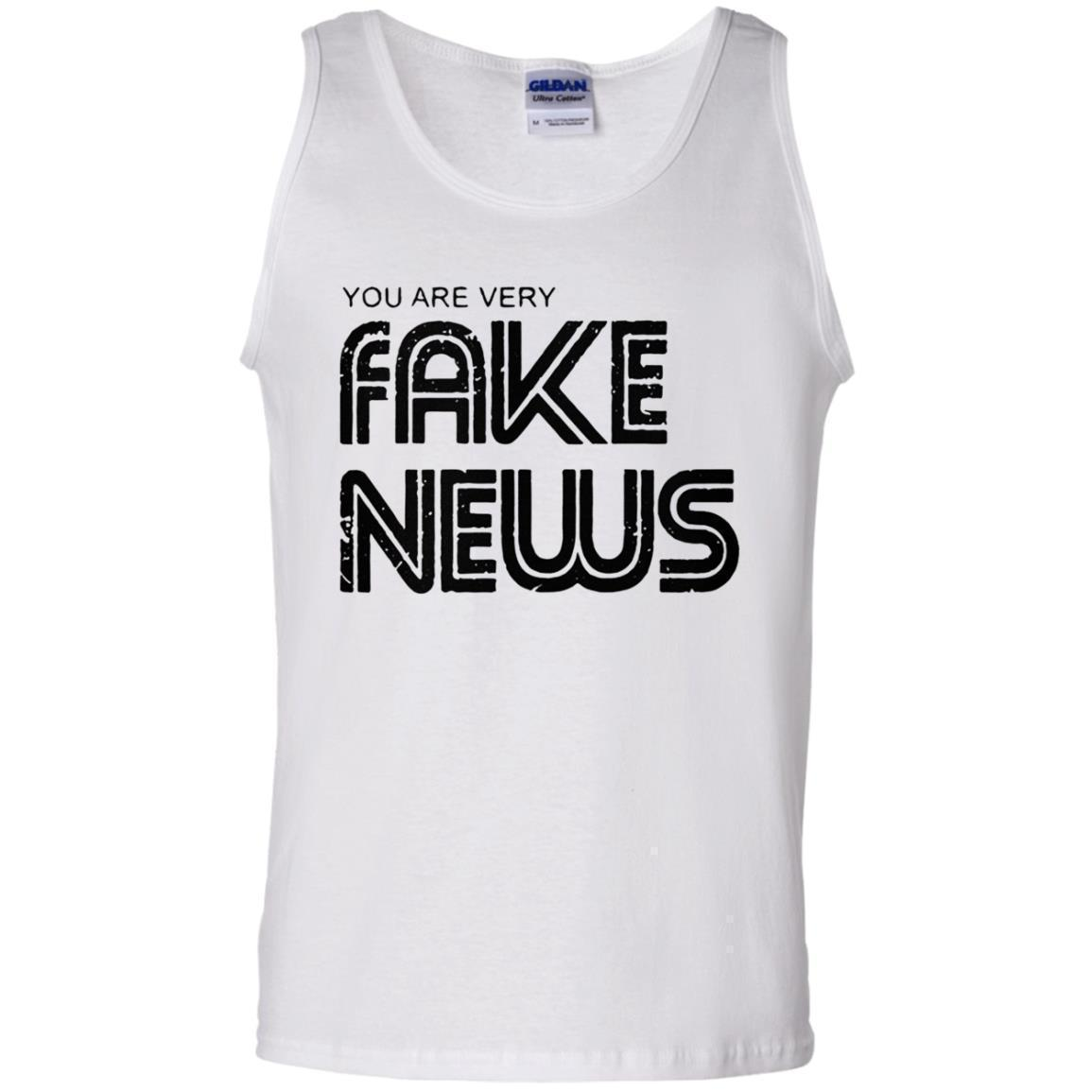Newseum Fake News Tank Top