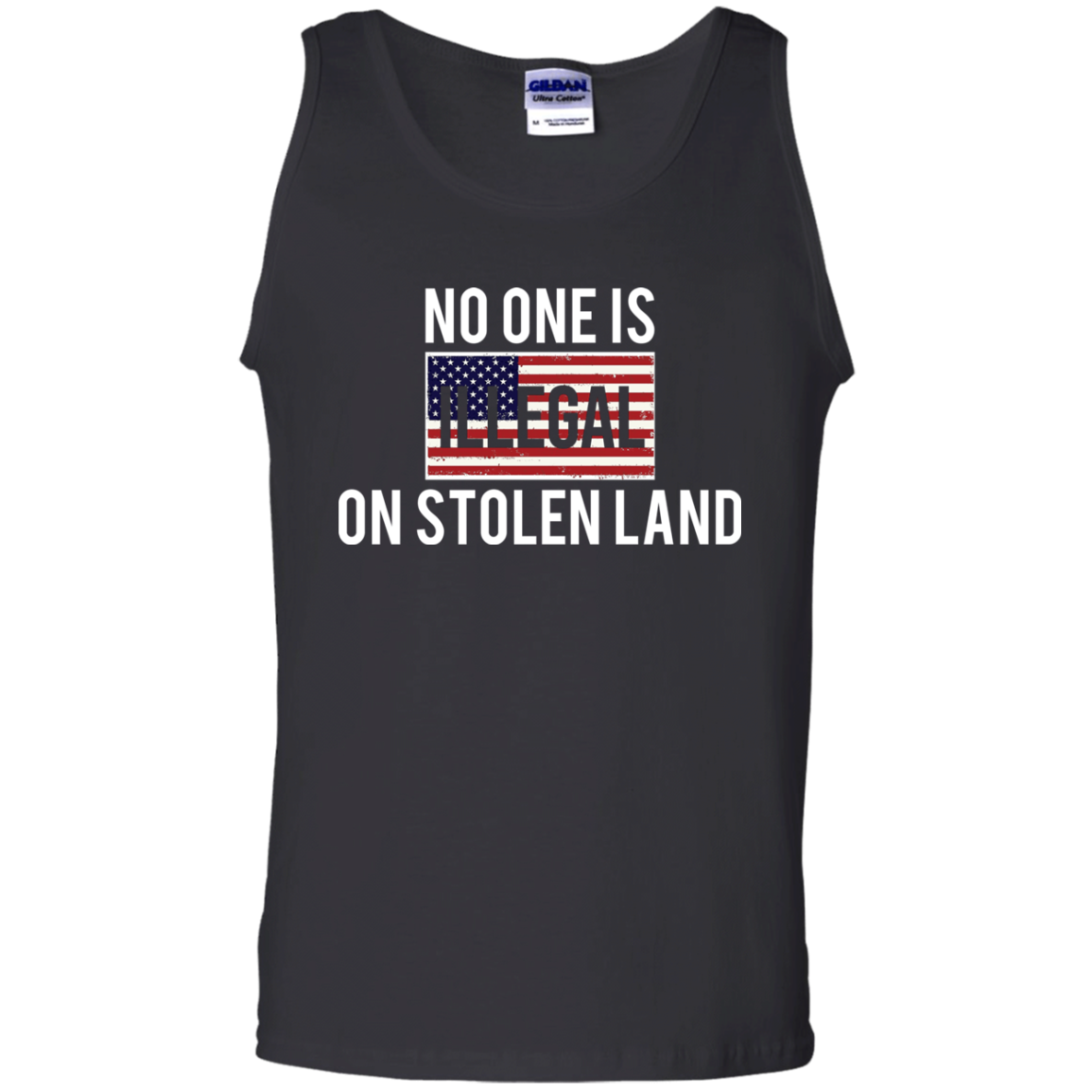 No One Is Illegal On Stolen Land Tank Top