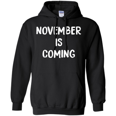 November Is Coming Hoodie - Black - Shipping Worldwide - NINONINE