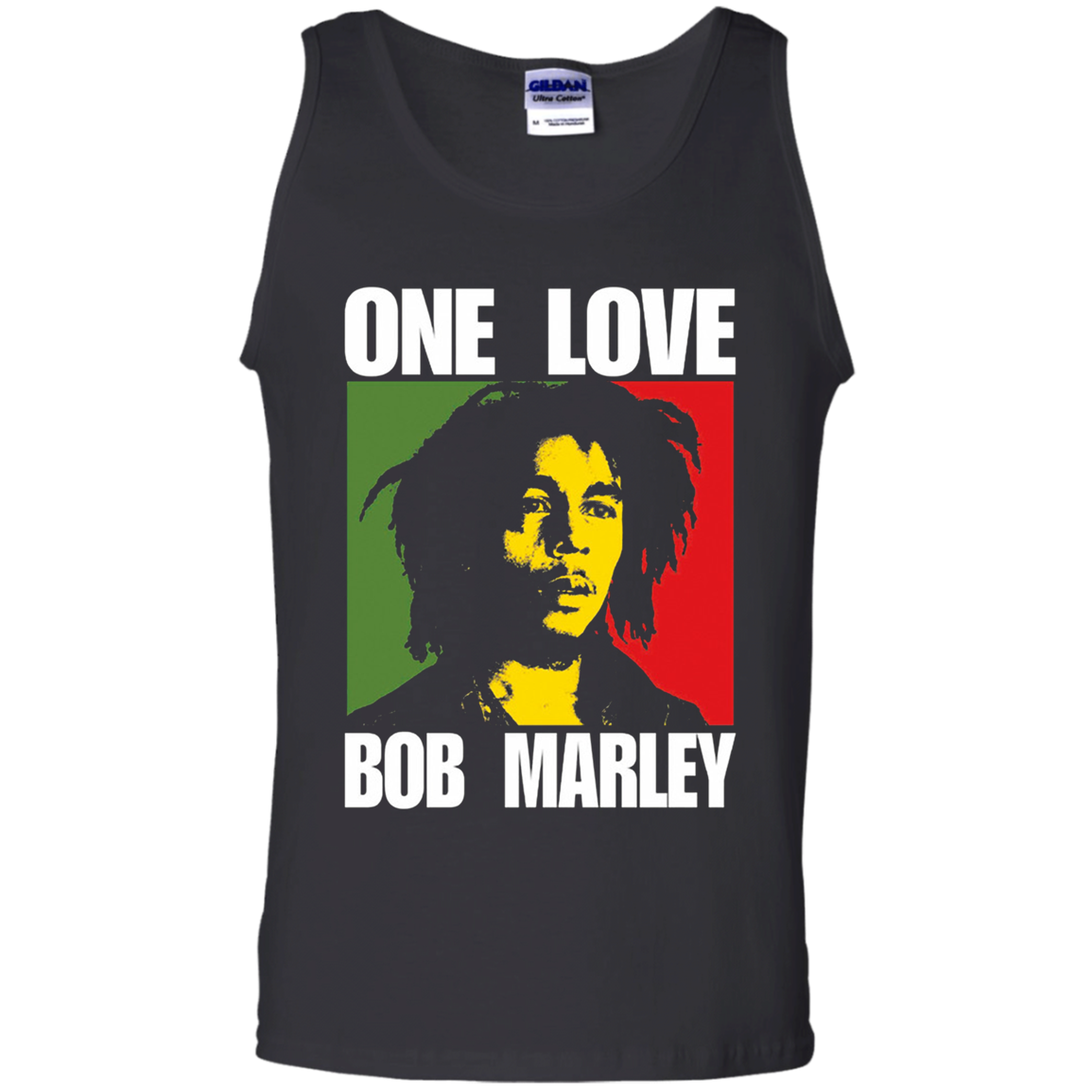 One Love Bob Marley Tank Top