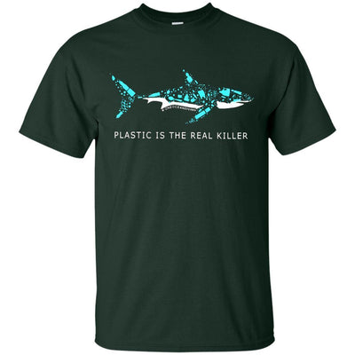 Plastic Is The Real Killer Shirt - Shipping Worldwide - NINONINE