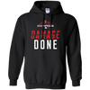 Red Sox Damage Done Hoodie - Black - Shipping Worldwide - NINONINE