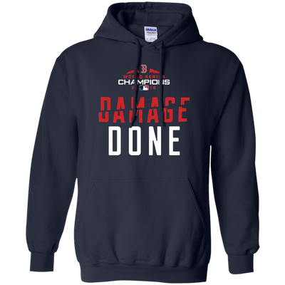 Red Sox Damage Done Hoodie - Navy - Shipping Worldwide - NINONINE