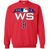 Red Sox World Series Sweater Sweatshirt - Red - Shipping Worldwide - NINONINE