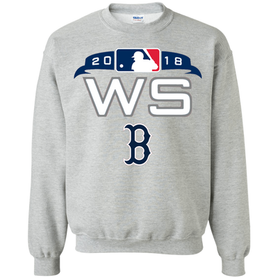 Red Sox World Series Sweater Sweatshirt - Sport Grey - Shipping Worldwide - NINONINE