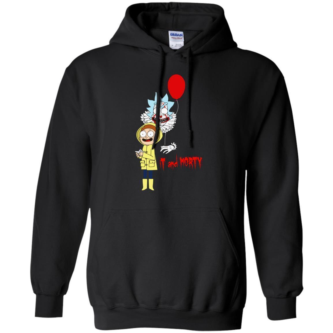 Rick And Morty It Clown And Morty Hoodie