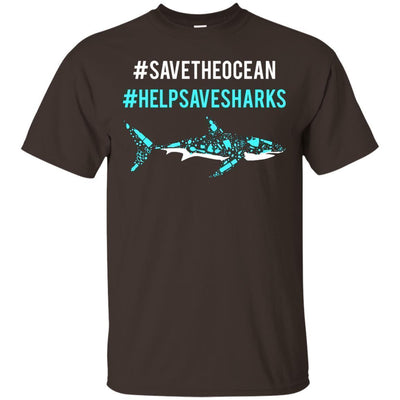 Save The Ocean Help Save Sharks Shirt - Shipping Worldwide - NINONINE