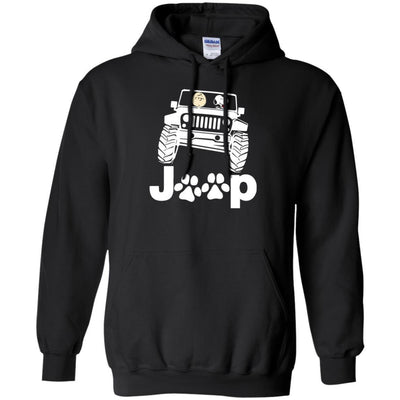 Snoopy Jeep Hoodie - Shipping Worldwide - NINONINE