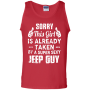 Sorry This Girl Is Already Taken By A Super Sexy Jeep Guy Tank Top