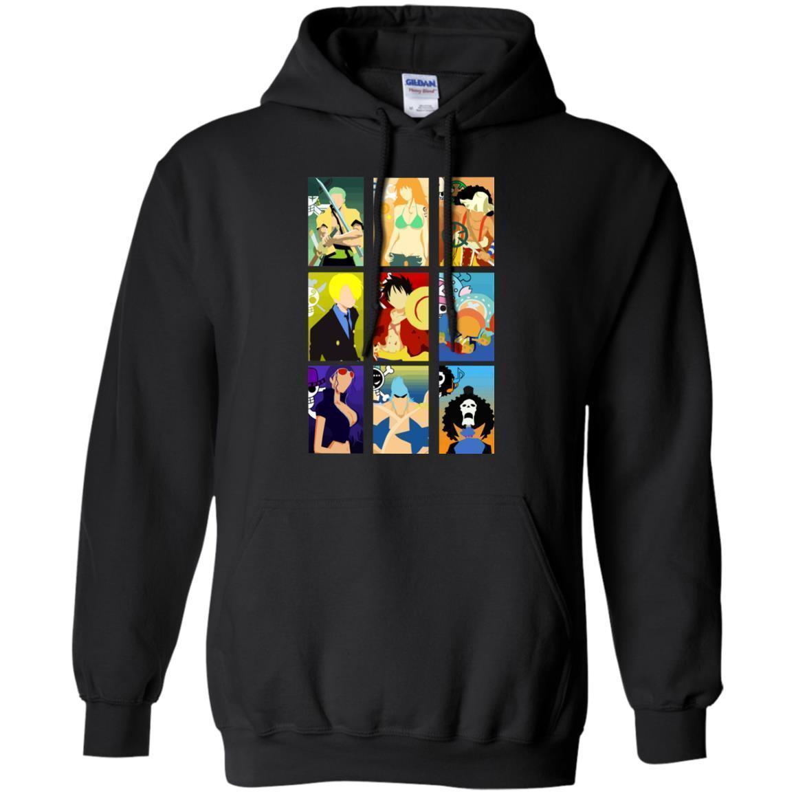Straw Hat Pirates Member One Piece Hoodie