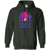 Taco Bell Hoodie - Forest Green - Shipping Worldwide - NINONINE