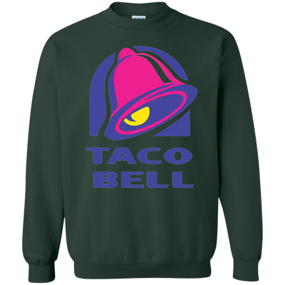 Taco Bell Sweatshirt Sweater - Forest Green - Shipping Worldwide - NINONINE